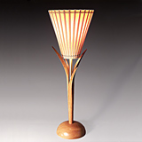 Mahogany Up Lamp