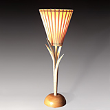 Maple Torchiere Lamp
