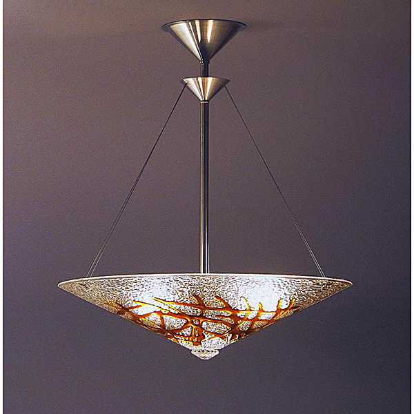 Amber Bramble Chandelier - Click Image to Close