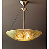 Sunburst Bowl Chandelier
