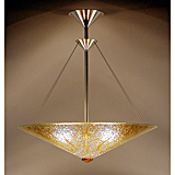 Sunburst Cone Chandelier